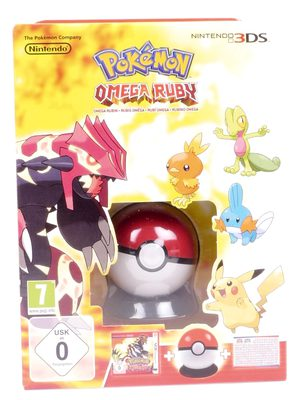 Pokemon Omega Ruby With Pokeball And Poster Limited Edition
