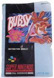 Bubsy In Claws Encounters Of The Furred Kind (Manual)