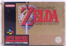 The Legend Of Zelda: A Link To The Past - SNES