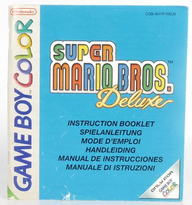 Super Mario Bros. Deluxe (Manual)
