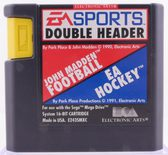 EA Sports Double Header: EA Hockey / John Madden Football - Mega Drive