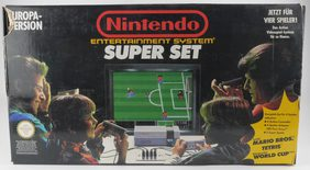 EMPTY BOX - Nintendo 8-Bit Super Set (box and flyers etc. only, no console!)