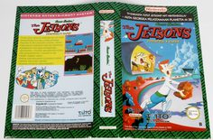 The Jetsons: Cogswell's Caper! (Original YAPON Rental Cover Paper)