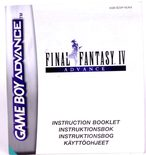 Final Fantasy IV Advance (Manual)