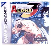 Street Fighter Alpha 3 (Custom Case) - GBA