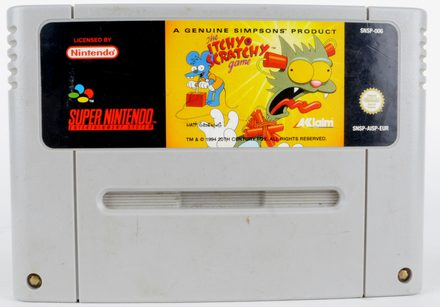 The Itchy & Scratchy Game - SNES