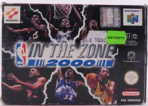 NBA In The Zone 2000 - N64
