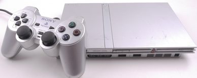 Playstation 2 Console Slim Model Silver (PS2)