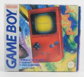Game Boy Classic Red Console (DMG-01)
