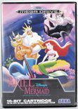Ariel The Little Mermaid - Mega Drive