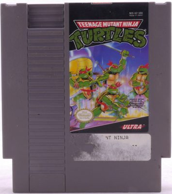 Teenage Mutant Ninja Turtles (Repro Cover, Original Game) - NES