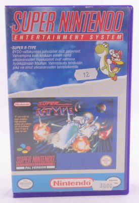 Super R-Type (Yapon) - SNES