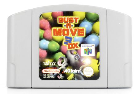 Bust-A-Move 3 DX - N64