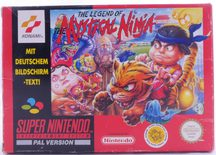 The Legend Of The Mystical Ninja (German Version) - SNES