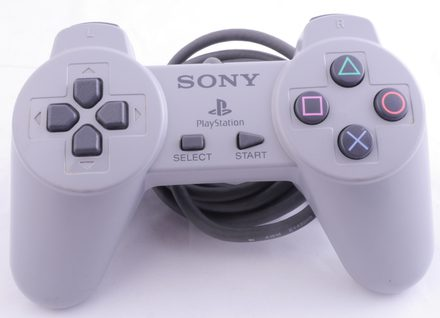 Original Playstation 1 Controller (Grey)
