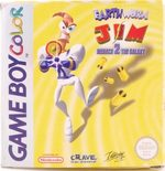 Earthworm Jim: Menace 2 The Galaxy - GBC