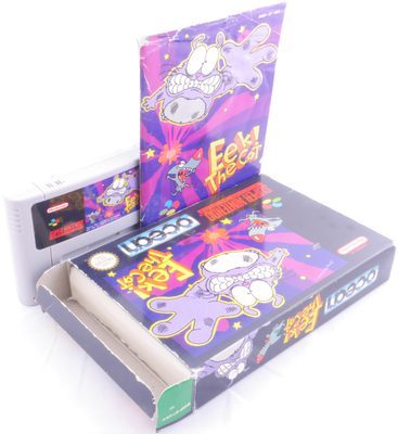 Eek! The Cat - SNES