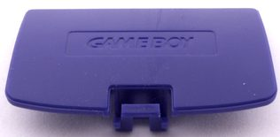 Game Boy Color Battery Cover (Dark Purple)