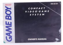 Game Boy Console (Manual
