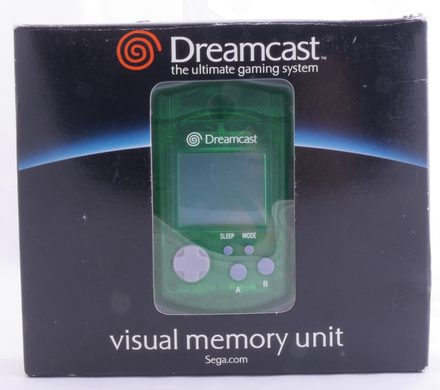 Dreamcast VMU Green (Visual Memory Unit)