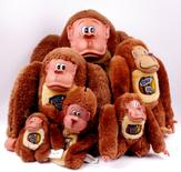 Donkey Kong Nintendo Plush Retro Vintage 1982 (Complete Collection)