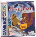 Disney's Beauty And The Beast: A Boardgame Adventure - GBC