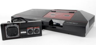 Sega Master System I Console With Hang-On