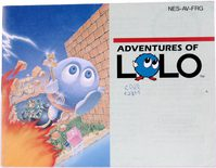 Adventures Of Lolo (Manual)