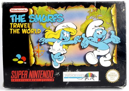 The Smurfs Travel The World - SNES