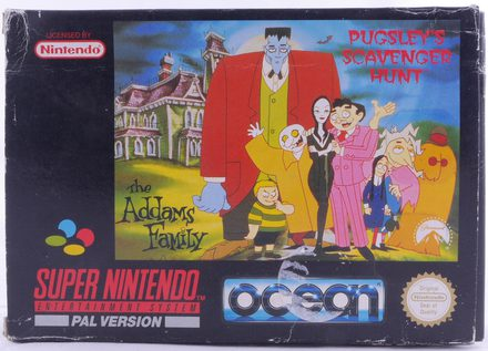The Addams Family: Pugsley's Scavenger Hunt - SNES