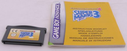 Super Mario Advance 4 (Super Mario Bros. 3) - GBA