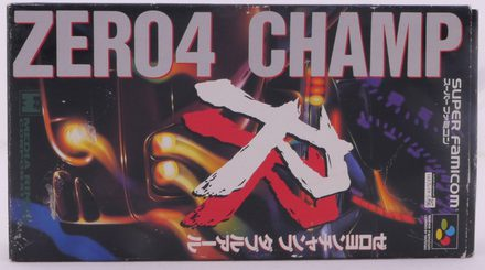Zero 4 Champ RR (Super Famicom) - SNES