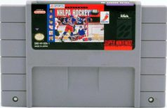 NHLPA Hockey '93 - SNES