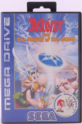Asterix And The Power Of The Gods - Mega Drive