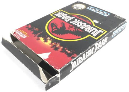EMPTY BOX - Jurassic Park (box only, no game!)