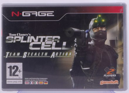 N-Gage Tom Clancy's Splinter Cell Team Stealth Action