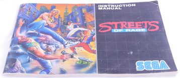 Streets of Rage (Manual)