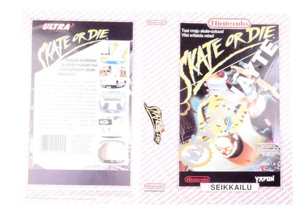 Skate or Die! (Original YAPON Rental Cover Paper)