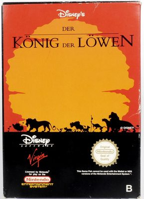 The Lion King - NES