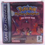 Pokemon Mystery Dungeon: Red Rescue Team - GBA