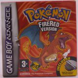 Pokemon FireRed Version - GBA