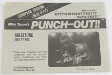 Mike Tyson's Punch-Out!! (Manual)