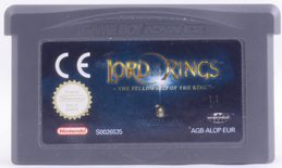 Lord Of The Rings: Fellowship Of The Ring - GBA