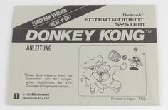 Donkey Kong (Manual)