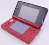 Nintendo 3DS Black / Red Console