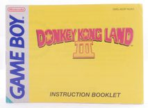Donkey Kong Land 3 (Manual)