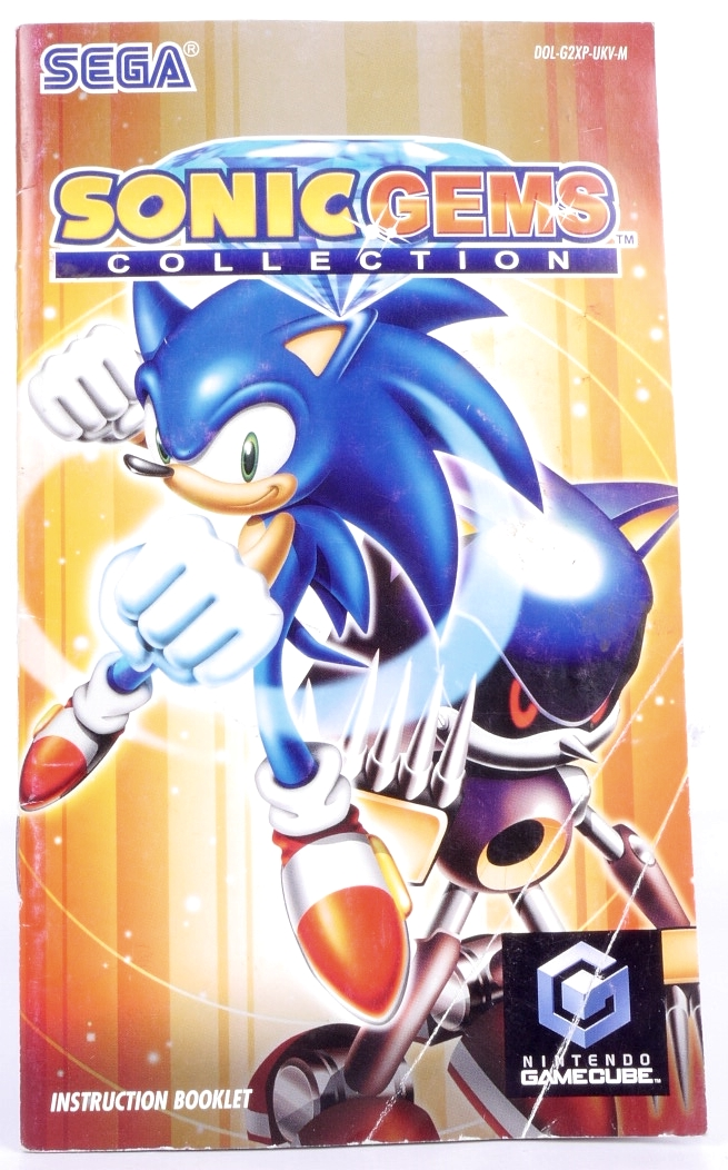 Sonic Gems Collection (Manual) | Retro Console Games ...
