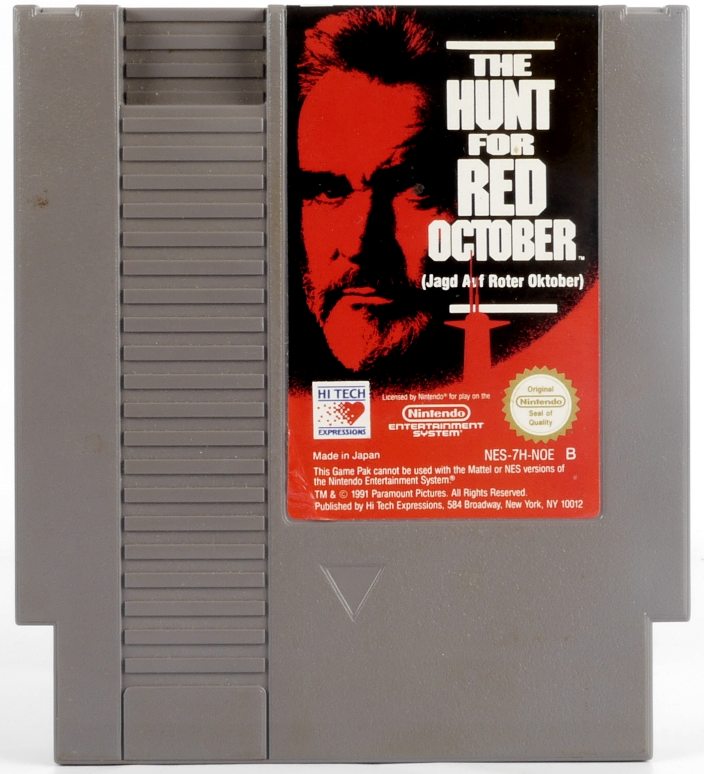 The Hunt for Red October - NES - NES