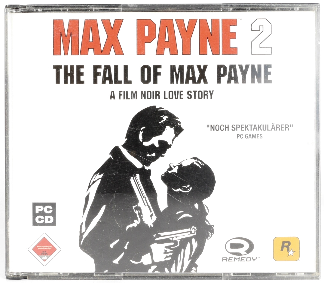 Max Payne 2 The Fall Of Max Payne Pc Cd Retro Console Games